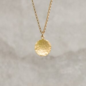 Gold-Disc-Necklace