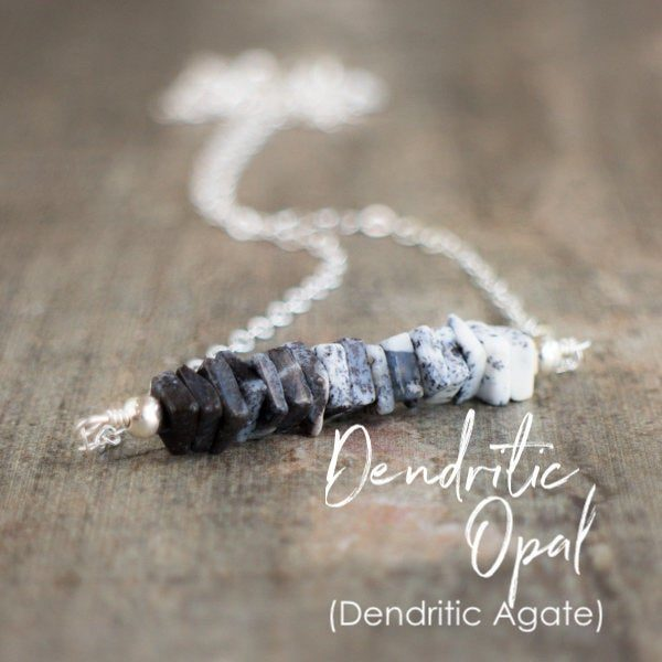 Dendritic-Opal-Necklace