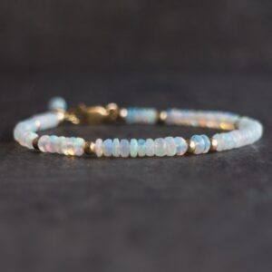 Opal Bracelet, gemstone jewellery