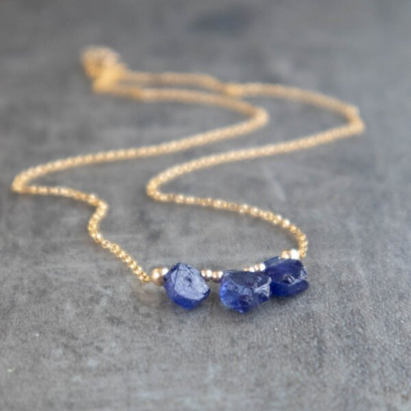 Sapphire Crystal Necklace