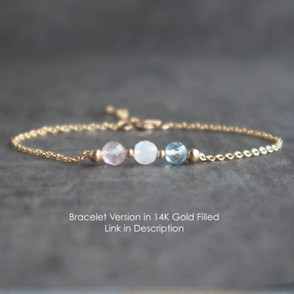 Fertility bracelet is also available with same gemstones