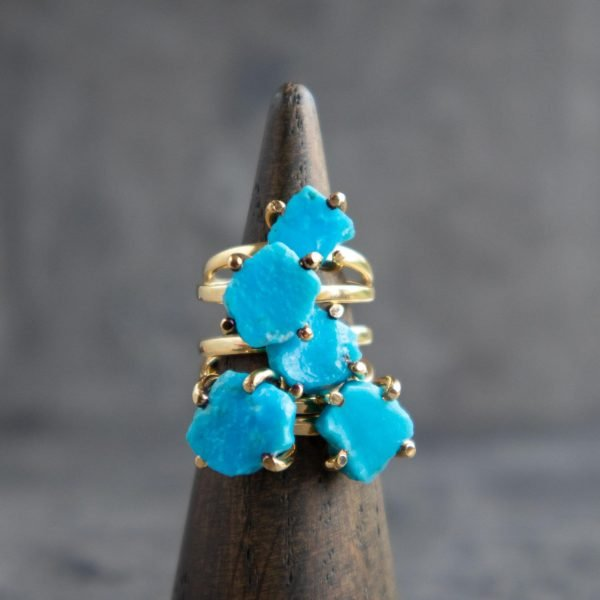 Raw-Turquoise-Ring