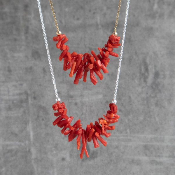 raw-red-coral necklace