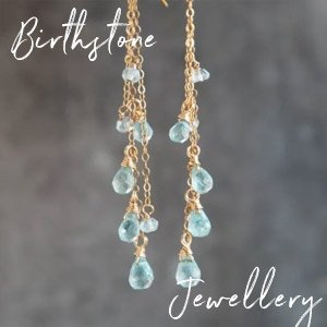Birthstone jewellery - Rings, Necklaces, Bracelets, Earrings for every month